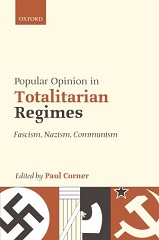 Book cover: Popular Opinion in Totalitarian Regimes edited by Paul Corner