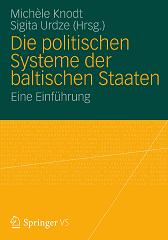 Book cover: Die politischen System der baltischen Staaten