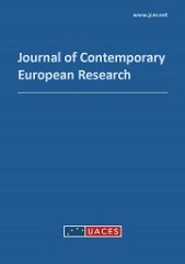 Book cover: Journal of Contemporary European Research