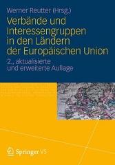 Book cover: Verbände und Interessengruppen in den Ländern der Europäischen Union